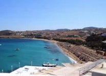 Spiaggia Kalafatis di Mykonos