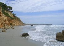 Playa de Binigaus di Minorca
