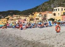 Spiaggia di Varigotti di Finale Ligure