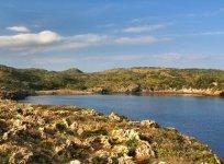 Cala des Tamarells di Minorca