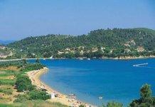 Spiaggia Troulos di Skiathos