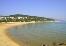 Spiaggia Pyrgaki di Naxos