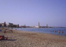 Rethymno Town beach di Creta