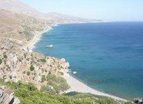 Spiaggia Preveli di Creta