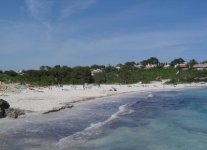 Spiaggia Binibeca Nou di Minorca