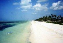 Spiaggia Bwejuu di Zanzibar
