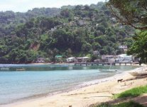 Man-O-War Bay di Tobago