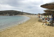 Spiaggia Kalotaritissa di Amorgos