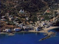 Spiaggia Karavostamo di Ikaria