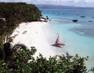 Diniwid Beach di Boracay