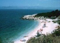 Spiaggia Imerolias-Kassiopi di Corfù