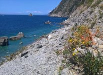Spiaggia del Persico di La Spezia