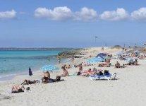 Spiaggia Arenals di Formentera