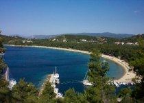 Spiaggia Koukounaries di Skiathos
