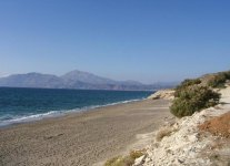 Spiaggia Kalamaki di Creta