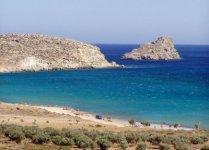 Spiaggia Xerokambos di Creta