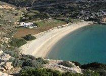 Spiaggia Kedros di Donoussa