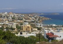 Spiaggia Azolimnos di Syros