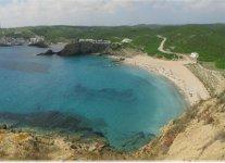 Spiaggia Sa Mesquida di Minorca