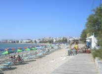 Spiaggia Agios Georgios di Naxos