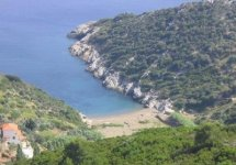 Spiaggia Vrisitsa di Alonissos